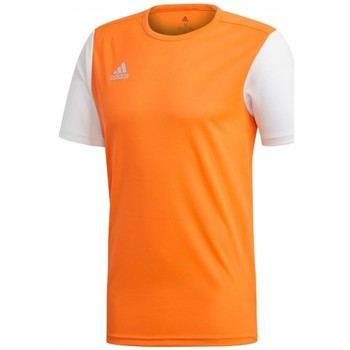 Vêtements Homme T-shirts manches courtes adidas Originals Estro 19 m/c Solar orange-White