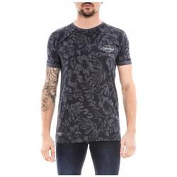 Vêtements Homme T-shirts manches courtes Ritchie T-shirt col rond NABUCO Bleu marine
