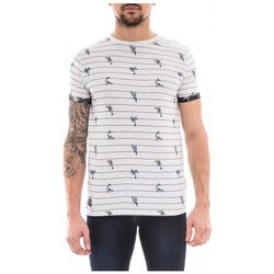 Vêtements Homme T-shirts manches courtes Ritchie T-shirt col rond NEPIK Ecru