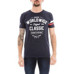 Vêtements Homme T-shirts manches courtes Ritchie T-shirt col rond NOLERO Bleu marine