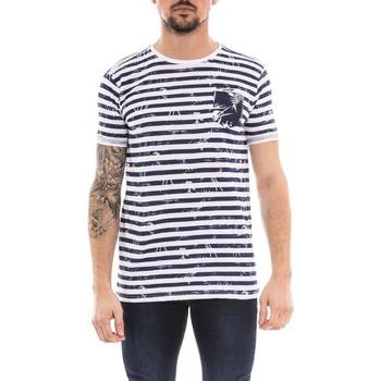 Vêtements Homme T-shirts manches courtes Ritchie T-shirt col rond NOURAX Bleu marine