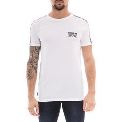 Vêtements Homme T-shirts manches courtes Ritchie T-shirt col rond NOVA Blanc