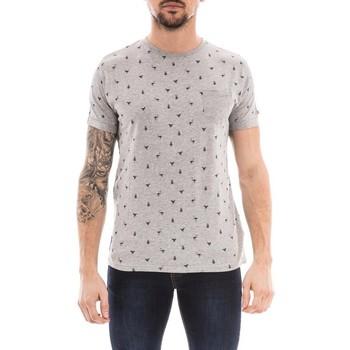 Vêtements Homme T-shirts manches courtes Ritchie T-shirt col rond NOYOTE Gris chiné