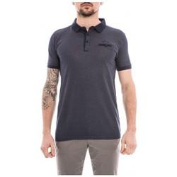 Vêtements Homme Polos manches courtes Ritchie Polo pur coton POULY Bleu marine
