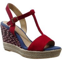 Chaussures Femme Espadrilles Toni Pons Alzira-A Rouge