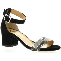 Chaussures Femme Sandales et Nu-pieds Pao Nu pieds cuir velours  python Python
