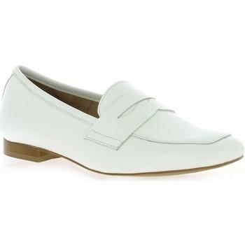 Chaussures Femme Mocassins So Send Mocassins cuir Blanc