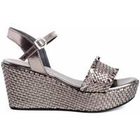 Chaussures Femme Sandales et Nu-pieds Zap-In CT-63 Argenté