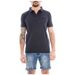 Vêtements Homme Polos manches courtes Ritchie Polo manches courtes PREFACE Bleu marine