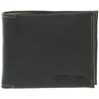 Sacs Homme Portefeuilles Arthur & Aston Portefeuille Arthur et Aston en cuir ref_ast37384 Noir