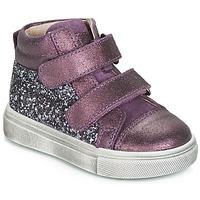 Chaussures Fille Baskets montantes Acebo's 5299AV-LILA-C Violet