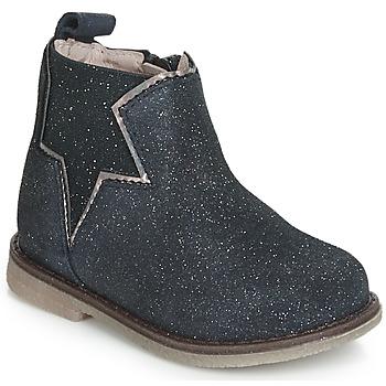 Chaussures Fille Boots Acebo's MAKALU Bleu