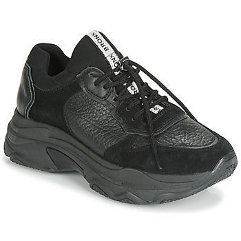 Chaussures Femme Baskets basses Bronx BAISLEY Noir
