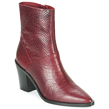 Chaussures Femme Bottines Bronx NEW AMERICANA LOW Bordeaux