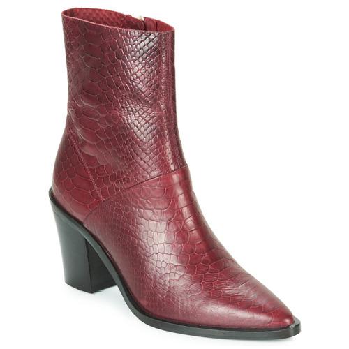 Chaussures Femme Bottines Bronx NEW AMERICANA LOW Bordeaux