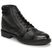 Chaussures Homme Boots Base London REPTON Noir