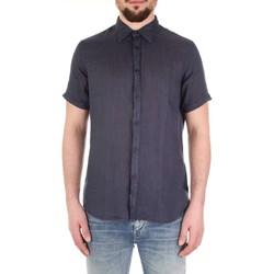 Vêtements Homme Chemises manches courtes Fred Mello FM19S27CU bleu