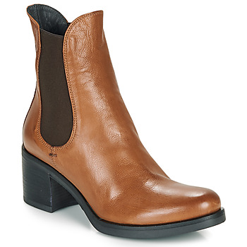 Chaussures Femme Bottines Fru.it VENETO Cognac