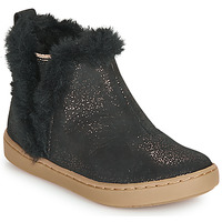 Chaussures Fille Boots Shoo Pom PLAY YETI Noir