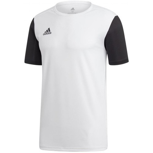 Vêtements T-shirts manches courtes adidas Originals Estro 19 m/c White-Black