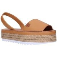 Chaussures Femme Espadrilles Popa Onna Mujer Cuero marron
