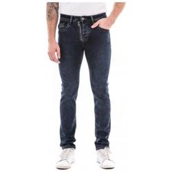 Vêtements Homme Jeans droit Ritchie Jean coupe slim SOWANY Bleu