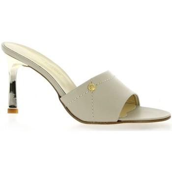 Chaussures Femme Claquettes Elizabeth Stuart Mules cuir Beige