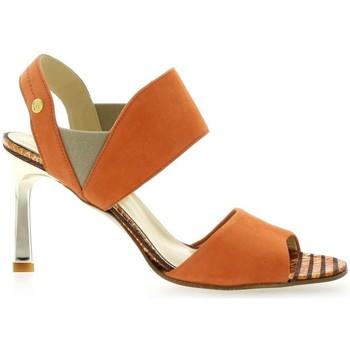 Chaussures Femme Sandales et Nu-pieds Elizabeth Stuart Nu pieds cuir velours  brique Brique