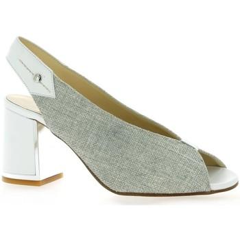 Chaussures Femme Sandales et Nu-pieds Elizabeth Stuart Nu pieds toile  ivoire Ivoire