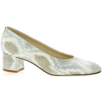 Chaussures Femme Escarpins Elizabeth Stuart Escarpins cuir python Argent