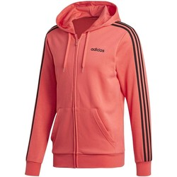Vêtements Homme Sweats adidas Originals E 3 STRIPES FZ GIACCHETTO CAPPUCCIO ROSSO rouge