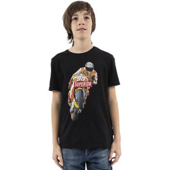 Vêtements Garçon T-shirts manches courtes Le Temps des Cerises xanderbo noir