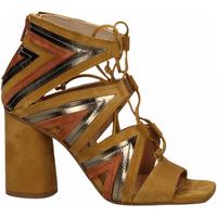 Chaussures Femme Sandales et Nu-pieds Fiori Francesi AMALFI ocra