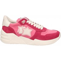 Chaussures Femme Baskets basses Atlantic Stars VENUS rosso-rosa