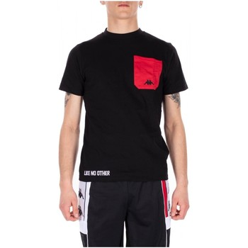 Vêtements Homme T-shirts manches courtes Kappa AUTHENTIC BAIAS 902-black-red-white