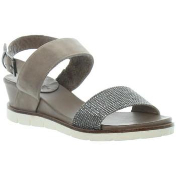 Chaussures Femme Sandales et Nu-pieds Lune Et L'autre Sandales  ref_46037 Marron marron
