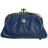 Sacs Femme Porte-monnaie Hexagona Porte-monnaie  en cuir ref_xga32009 Bleu 14*9*4 bleu
