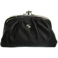 Sacs Femme Porte-monnaie Hexagona Porte-monnaie en cuir vachette ref_xga32010 Noir 16*9*4 noir