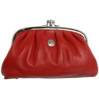 Sacs Femme Porte-monnaie Hexagona Porte-monnaie en cuir vachette ref_xga32010 Rouge 16*9*4 rouge