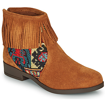 Chaussures Femme Boots Desigual OTTAWA TAPESTRY Marron