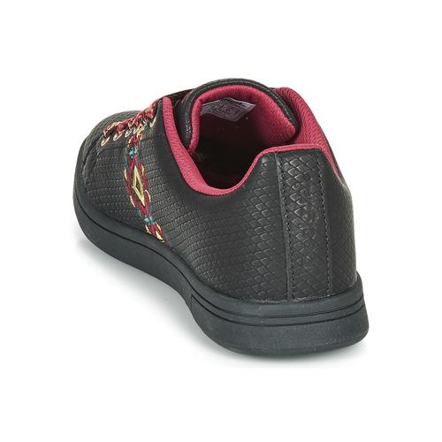 Femme Desigual Cosmic Navajo Noir Chaussures Basses Baskets 0wOknP8