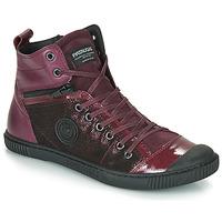 Chaussures Femme Baskets montantes Pataugas BANJOU Aubergine