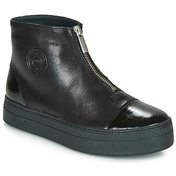 Chaussures Femme Boots Pataugas VALENTINA Noir