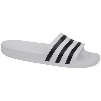 Chaussures Homme Claquettes adidas Originals Adilette Aqua Blanc