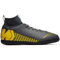 Chaussures Garçon Football Nike JR Superfly 6 Club IC Gris
