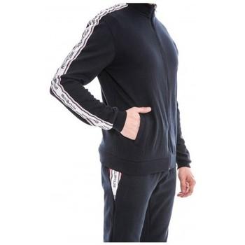 Vêtements Homme Vestes de survêtement Ritchie Sweat zippé col montant WAPIAZA Bleu marine