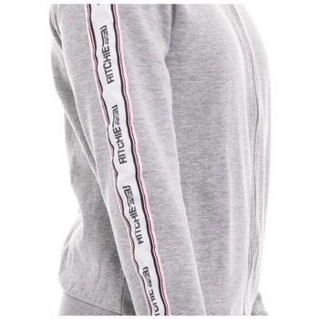 Gris Ritchie Survêtement Zippé Wapiaza Vestes Vêtements Homme Sweat Montant Col De SUMpVz