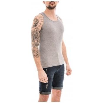 Vêtements Homme Débardeurs / T-shirts sans manche Ritchie Débardeur coton organique WILLOO Gris chiné