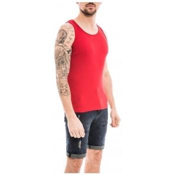 Vêtements Homme Débardeurs / T-shirts sans manche Ritchie Débardeur coton organique WILLOO Rouge