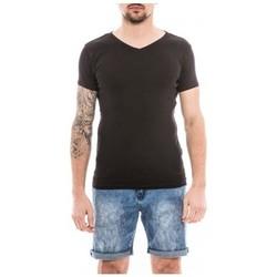Vêtements Homme T-shirts manches courtes Ritchie T-shirt coton organique WORKAWAY Noir